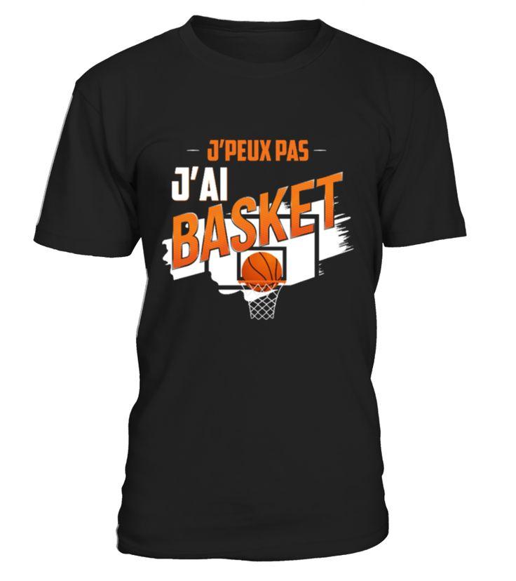 ✪ J'peux pas j'ai basket ✪ Sport Football Basketball Soccer T Shirt  Funny Golf T-shirt, Best Golf T-shirt