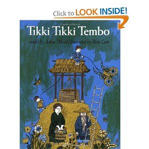 Tikki Tikki Tembo by Arlene Mosel and Blair Lent - A Classic rhyming book great for toddlers and preschoolers