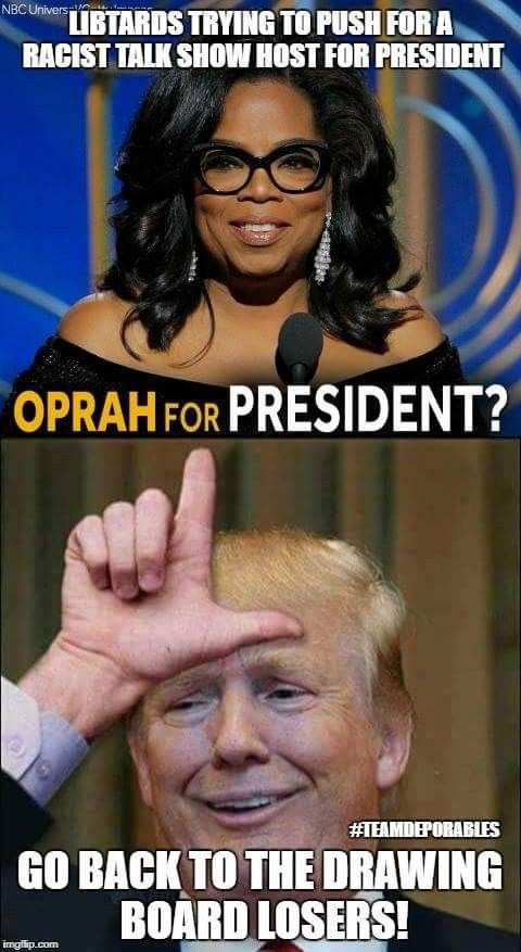 They would push anything...Oprah is an bigot and racist!   oh sure ..we wold have another Obama...won't Michelle be angree