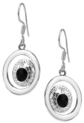Tianguis Jackson Silver Circle Framed Earrings http://www.qualitysilver.co.uk/Jewellery/Tianguis-Jackson-Silver-and-Stone-Set-Earrings.html