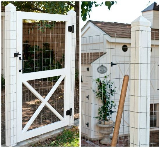 How I want to fix my hen yard with a door.