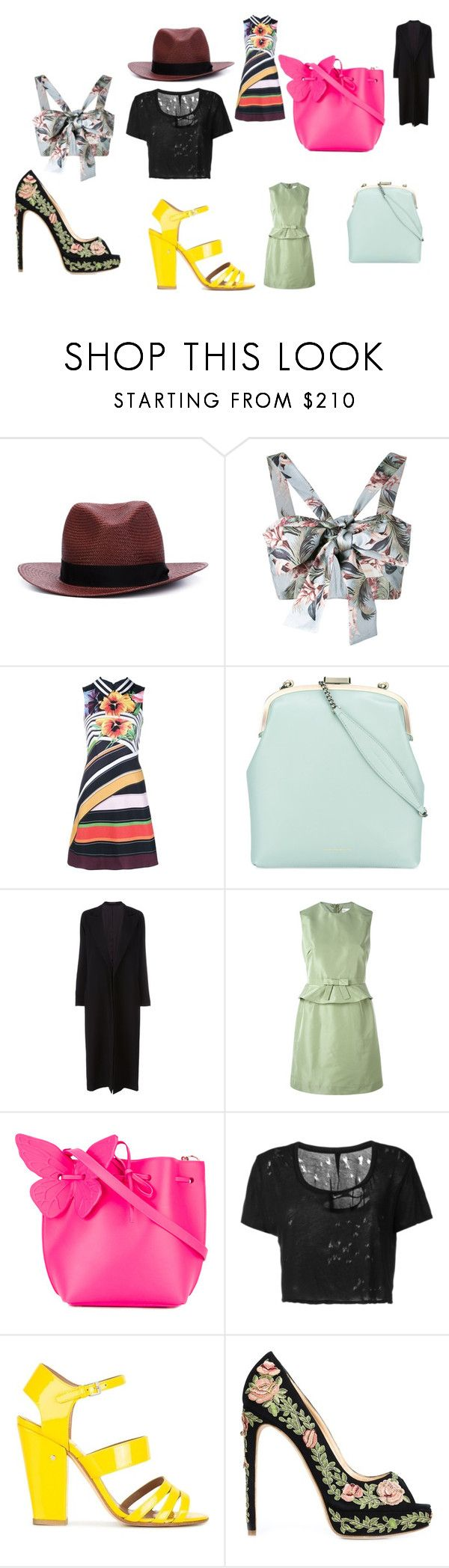 """fashion collection weekend best sale"" by monica022 ❤ liked on Polyvore featuring rag & bone, Zimmermann, Mary Katrantzou, Tammy & Benjamin, Yohji Yamamoto, RED Valentino, Sophia Webster, Unravel, Laurence Dacade and Marchesa"
