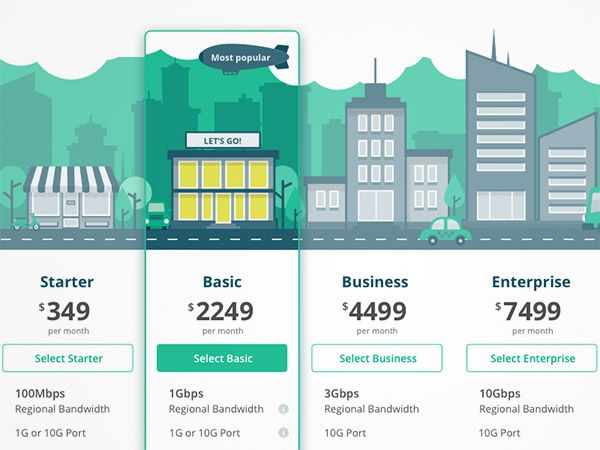 40+ Pricing Table Design Ideas For Designers