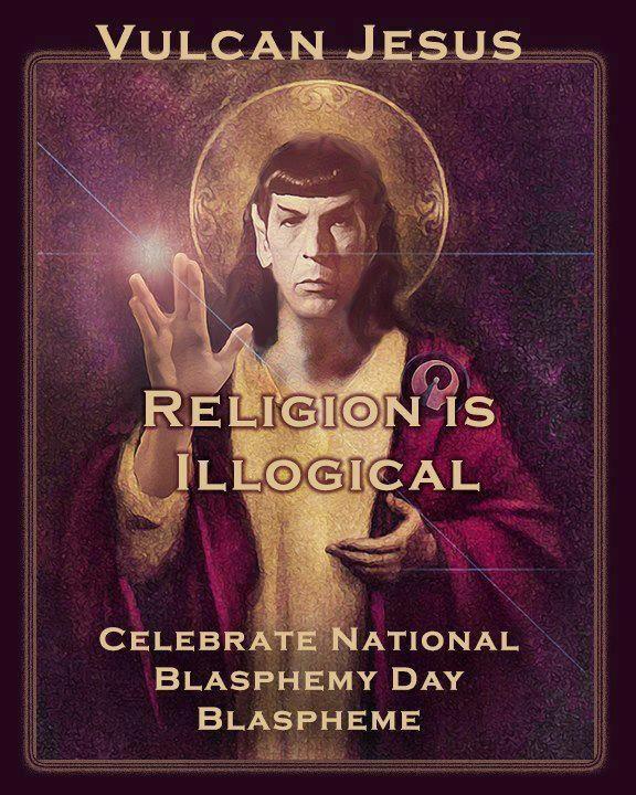 Vulcan Jesus #Spock #AntiReligion | Anti Religion ...