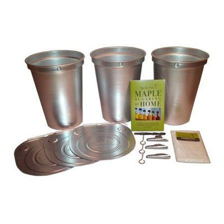 Tap My Trees Maple Sugaring Starter Kit with Plastic Buckets – TapMyTrees