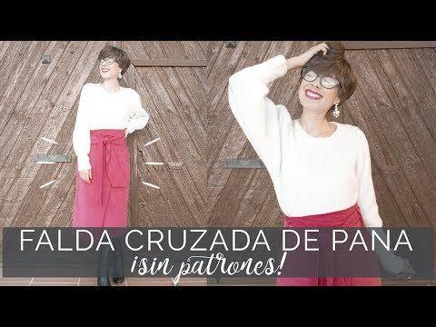 971bcd2a7 Cómo hacer una falda cruzada paso a paso ¡¡muy fácil!! - YouTube ...