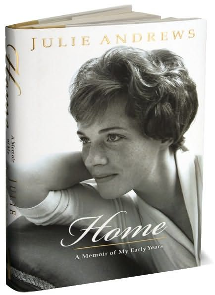 Julie Andrews Autobiography. This book is beautiful..I love the way she phrases her words, so elegant.