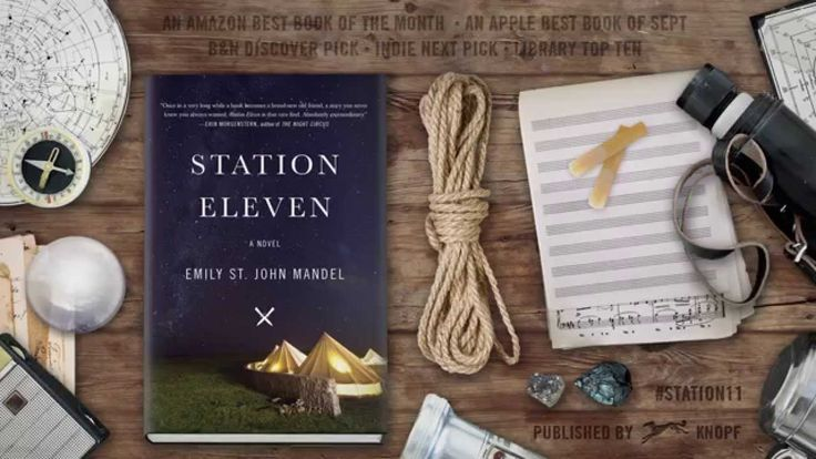 Station Eleven by Emily St. John Mandel | Book video #readthisbook