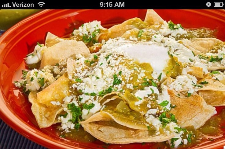 How to Make Chilaquiles.