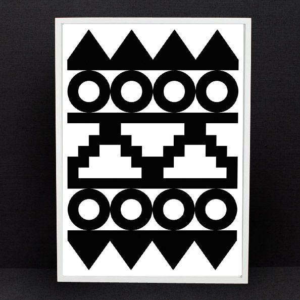 Aztec Print by Rhonda Drakeford www.darkroomlondon.com: Cards Design, Shops Interiors, Aztec Cameras, Art Prints, Aztec Prints, Darkroom Aztec, Antiques Design, Rhonda Drakeford, Drakeford Prints