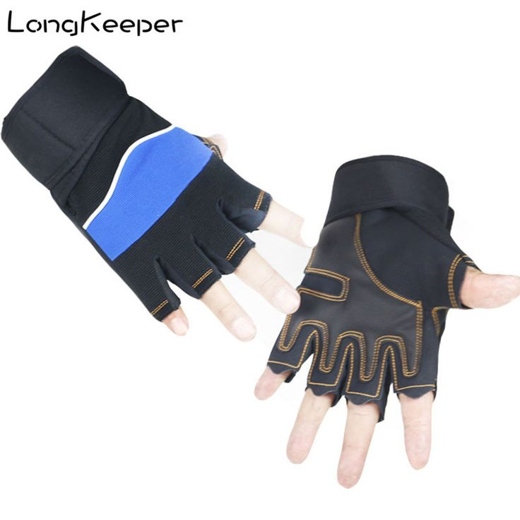 LongKeeper Sports Gloves Bike Bicycle MTB Cycling Gloves Fitness Palm Guantes Protective Crossfit Training Guantes Mujer #Affiliate