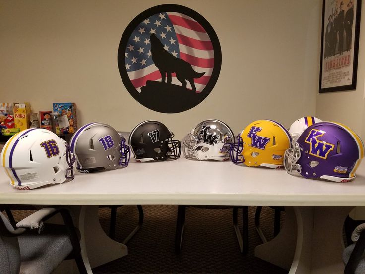 NAIA school Kansas Wesleyan University. Summer 2017, not sure if they will use all these or if they are samples.