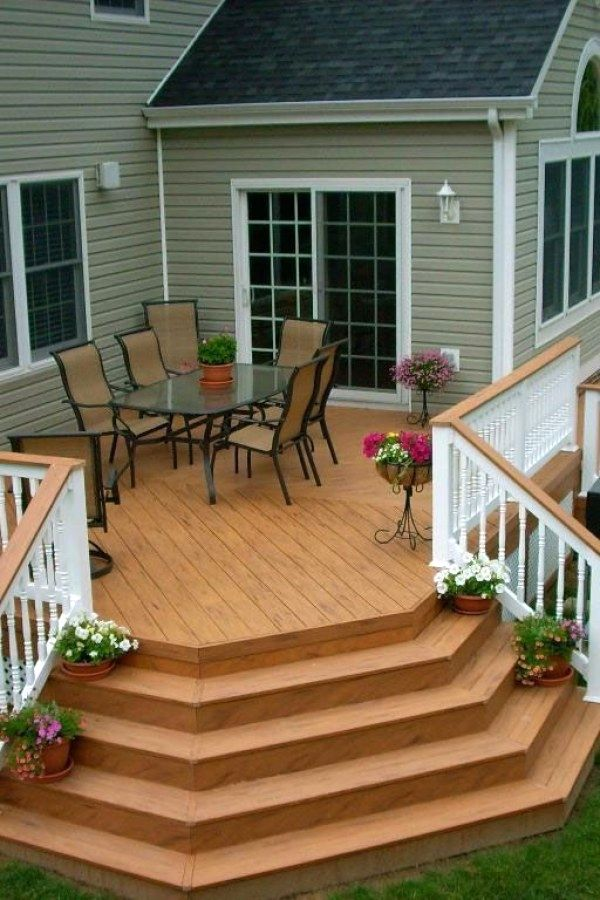 29 Beautiful Diy Deck Plans You Might Try For Your Backyard Deck Designs Design No 12921 Dec Ideas Deck Building A Deck Deck Design Wooden Deck Designs