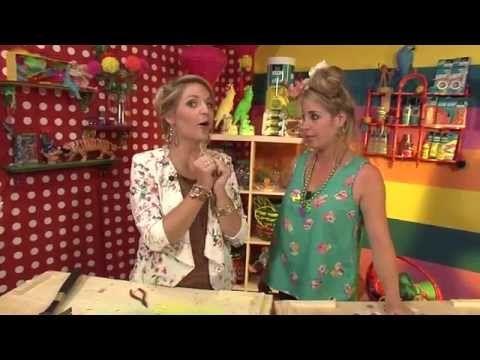 KnutselTV Tip - letterketting knutselen - YouTube