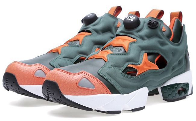 Reebok Insta Pump Fury: Gators (Green/Orange)