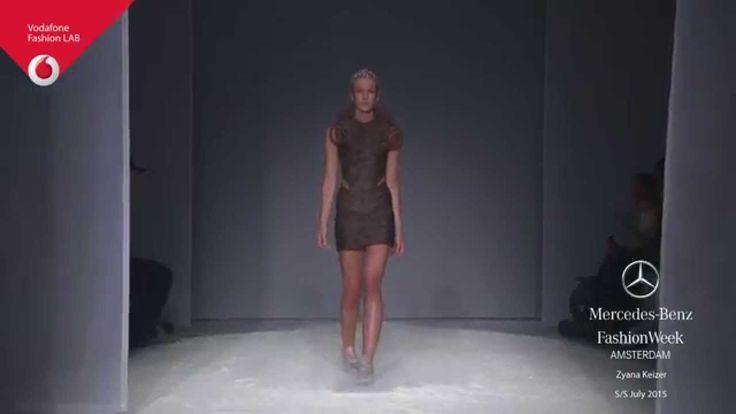 Mercedes-Benz FashionWeek Amsterdam - Zyanya Keizer July 2015