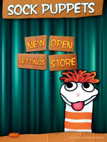 Sock Puppets - FREE APP -lip-synched animation to sock puppet