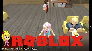 Roblox [Drinks!] Restaurant Tycoon (beta) Gameplay ...