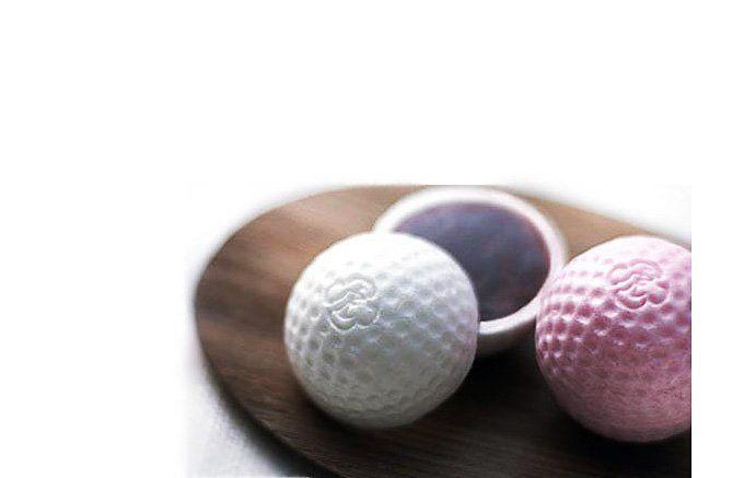 ゴルフ最中 ホールインワン 日本橋 とらや #wagashi #nihonbashi