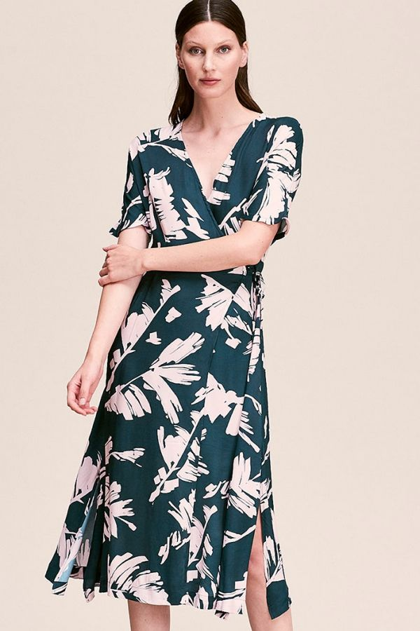 2771e42a1f Elif in 2019 | QR SS 2020 | Wrap dress, Dresses, How to wear