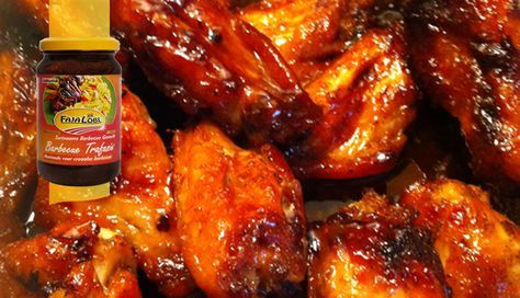 Surinaams eten – BBQ Honey Wings (BBQ wings geglaceerd met honing)