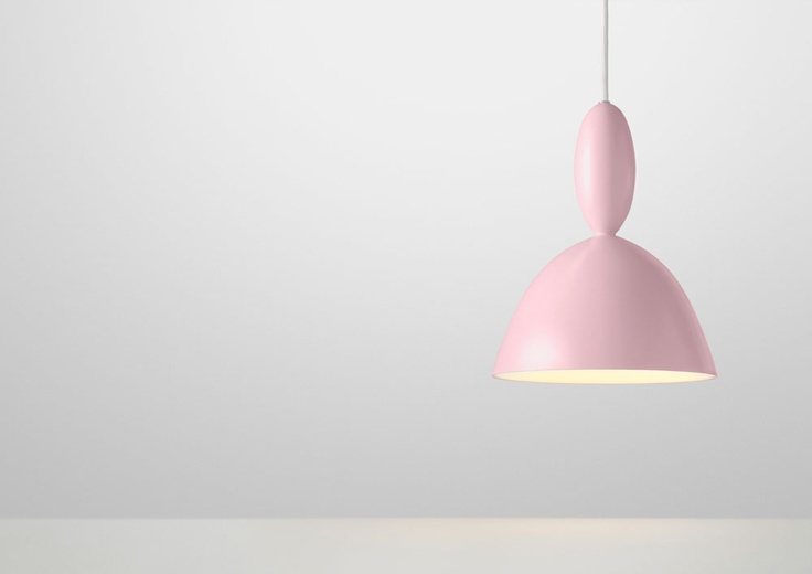 Mhy pendant from Muuto #lamp #rose #pink #red #heart #valentines