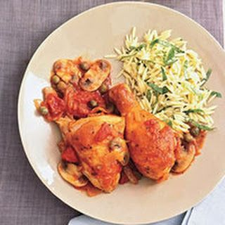 Rachel Rays Chicken Cacciatore With Orzo Easy And So Good