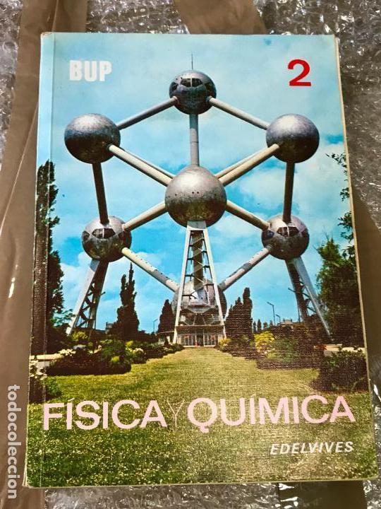 a46adafb35 Fisica y quimica bup 2 edelvives ·año 1984   Libros texto   Química ...