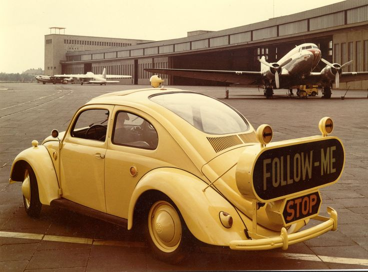 Follow Me at Tempelhof Airport back in 1954.