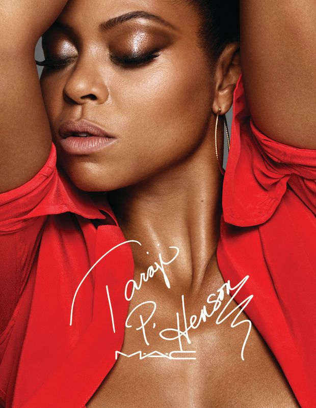 Taraji P. Henson for MAC Cosmetics. Photo: Courtesy of MAC Cosmetics