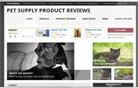 Pet Supply Review Website