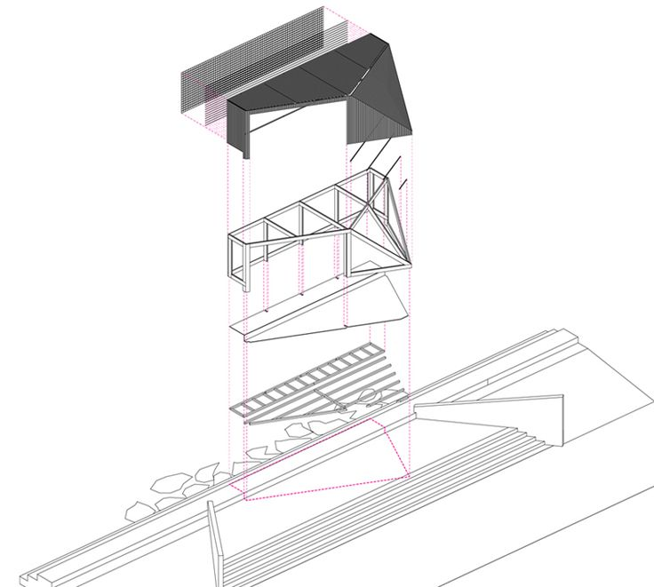 NAS architecture pavilion activates senses along shoreline of france - designboom | architecture & design magazine