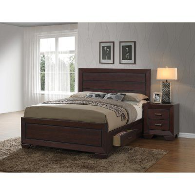 Coaster Furniture Fenbrook Panel Storage Bed, Size: Queen - 204390Q, Durable