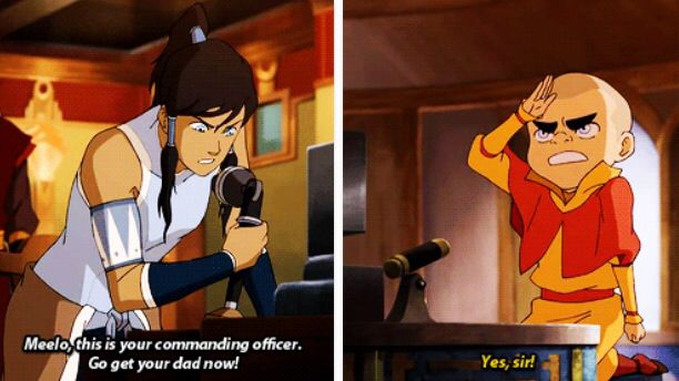 Legend of Korra: commander Korra lol