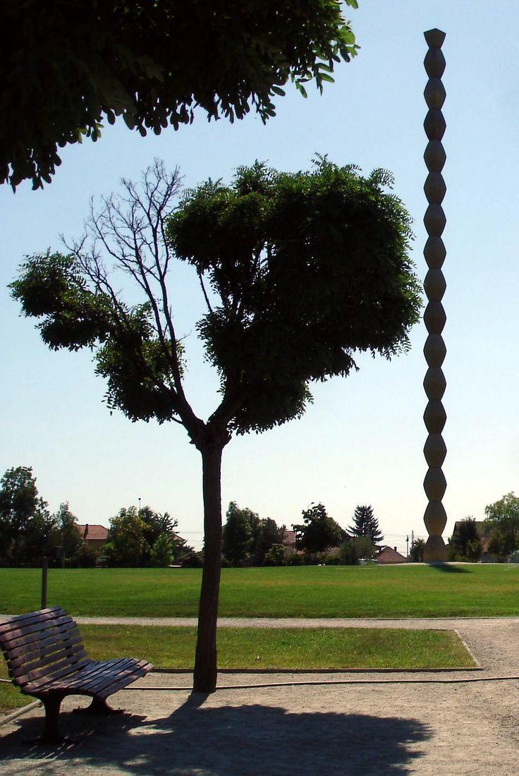 Infinity Column (Endless Column; Infinite Column; Column Thanksgiving without End) 2 - Targu Jiu City, Romania