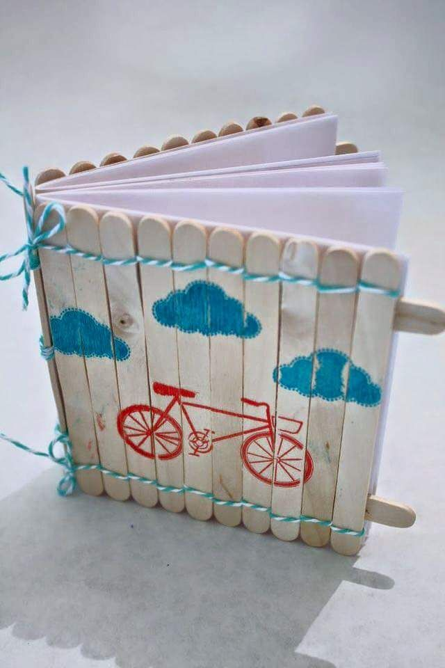 Reuse the ice cream sticks paus gelado pinterest for Popsicle crafts for kids