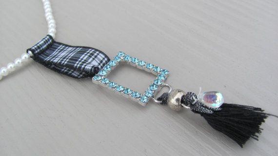 Blue Strass Jewelry / Spring jewelry / Handmade by CANDYlook4u on Etsy