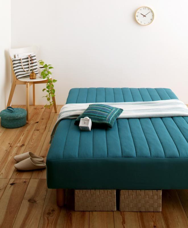 新・色・寝心地が選べる!20色カバーリングポケットコイルマットレスベッド | 理想の部屋をつくる 家具・雑貨ショップ ワンルーム [ONEROOM]