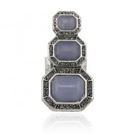 YOUNG PICASSO RING - PERIWINKLE