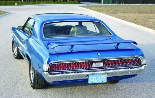 """1969 Mercury Cougar XR7 390 """"Eliminator"""" 6.4L V8"""