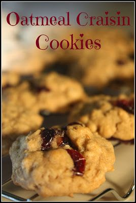 Year-Round Giving: Best Oatmeal Cookies with Craisins