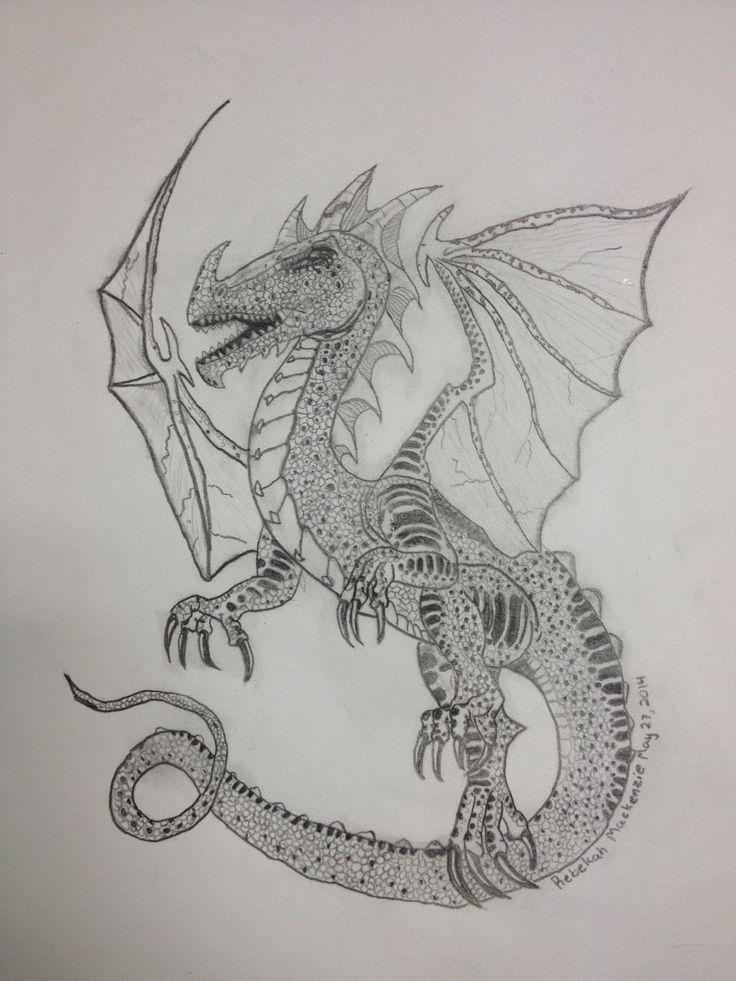 My Dragon by Bekah M age 11
