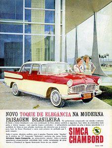 1960 Simca Chambord - Brasil