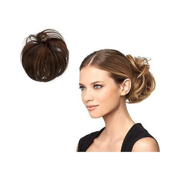Hairdo Modern Chignon ($22) ❤ liked on Polyvore featuring beauty products, haircare, hair styling tools, flat iron, straightening iron, styling iron and straight iron