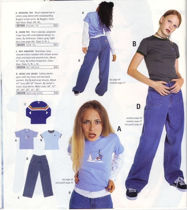 16 Things Teen Girls Wore In The Winter Of 1996   much interesting, very modeling.