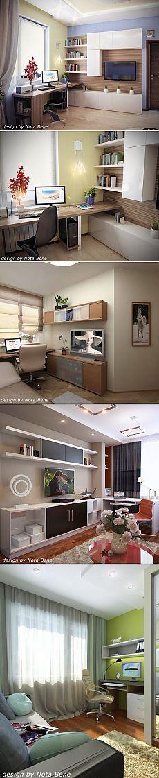 Дизайн рабочего места от Nota Bene.
