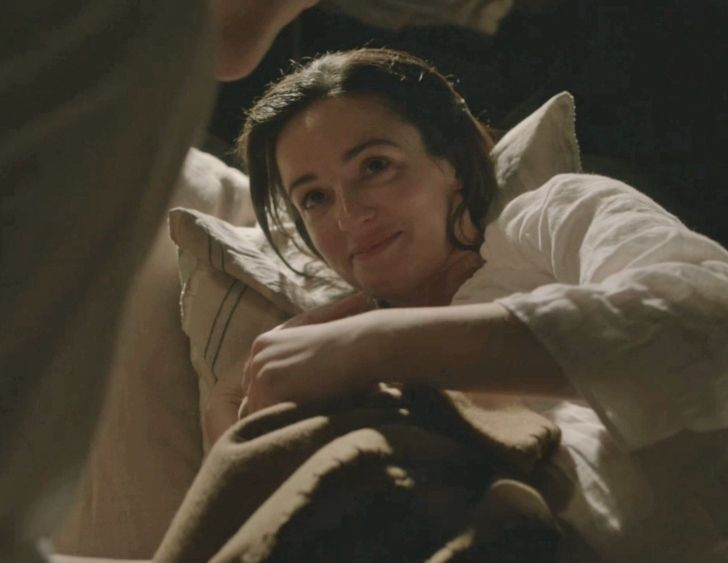 """Jenny Murray (Laura Donnelly) in """"The Watch"""" of Outlander on Starz via http://outlander-online.com/2015/05/03/1370-uhq-1080p-screencaps-of-episode-1x13-of-outlander-the-watch/"""