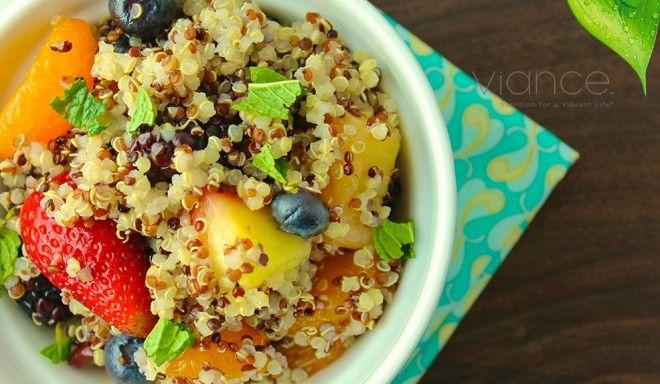 quinoa fruit salad | Quinoa | Pinterest