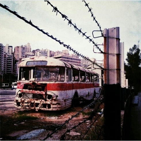A Bus So Decrepit, It Might As Well Be A National Landmark. www.beirut.com/l/21213