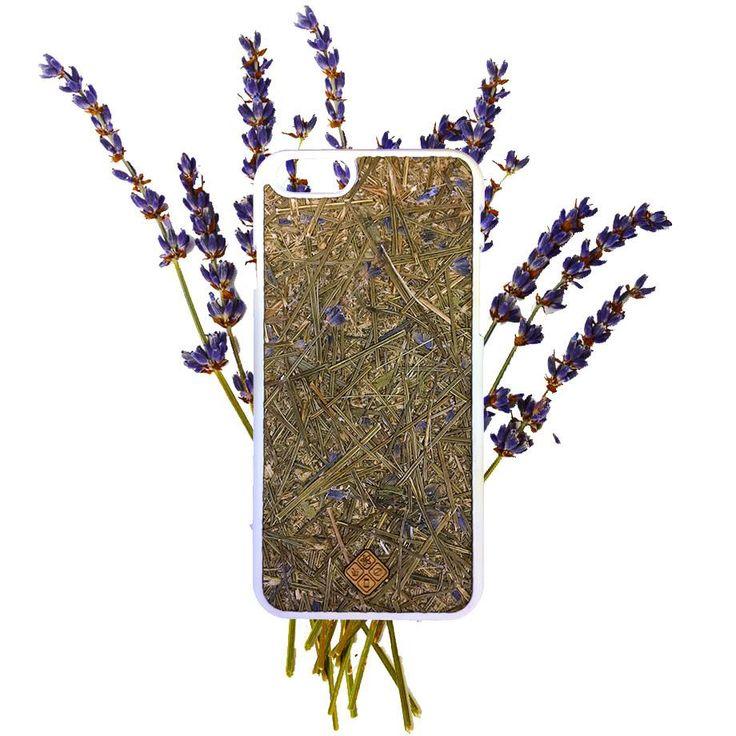 Organika Lavender Phone Case